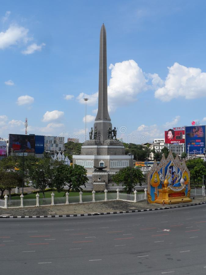 Bangkok traces its roots to a small trading post during the Ayutthaya Kingdom in the 15th century, which eventually grew and becam. E the site of two capital stock photo