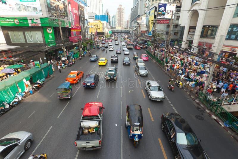 Download Bangkok traffic editorial stock image. Image of city - 23326234