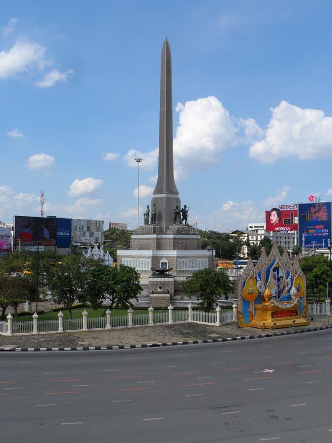 Bangkok tropi swój korzenie mała handlarska poczta podczas Ayutthaya królestwa w 15 wiek który ostatecznie rósł i becam, zdjęcie stock