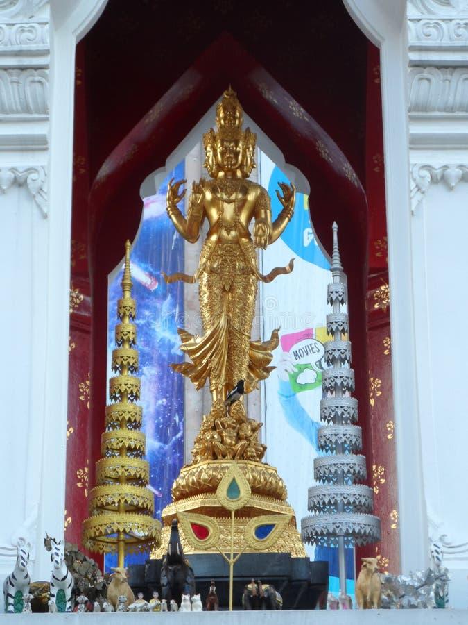 Bangkok tropi swój korzenie mała handlarska poczta podczas Ayutthaya królestwa w 15 wiek który ostatecznie rósł i becam, fotografia stock
