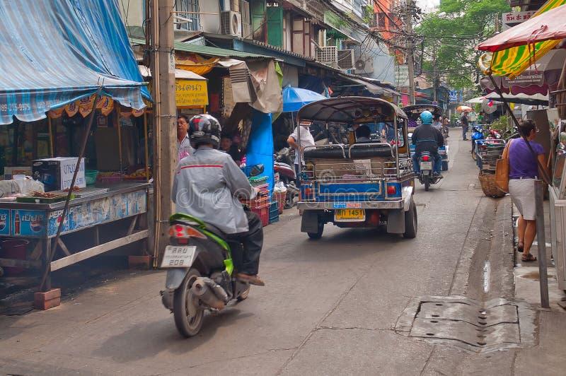 Download Bangkok ulica obraz stock editorial. Obraz złożonej z wschód - 28974574