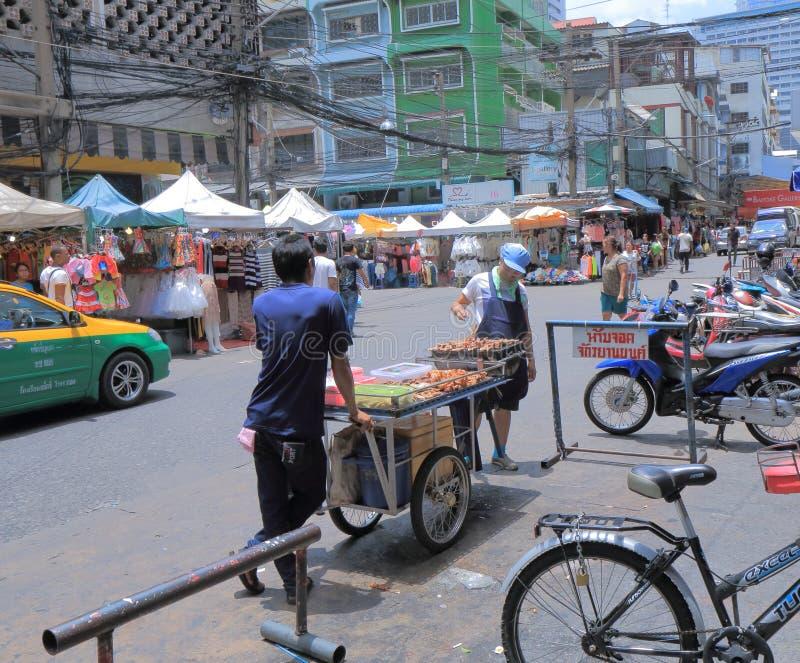 Bangkok ulicy łomotać obraz royalty free