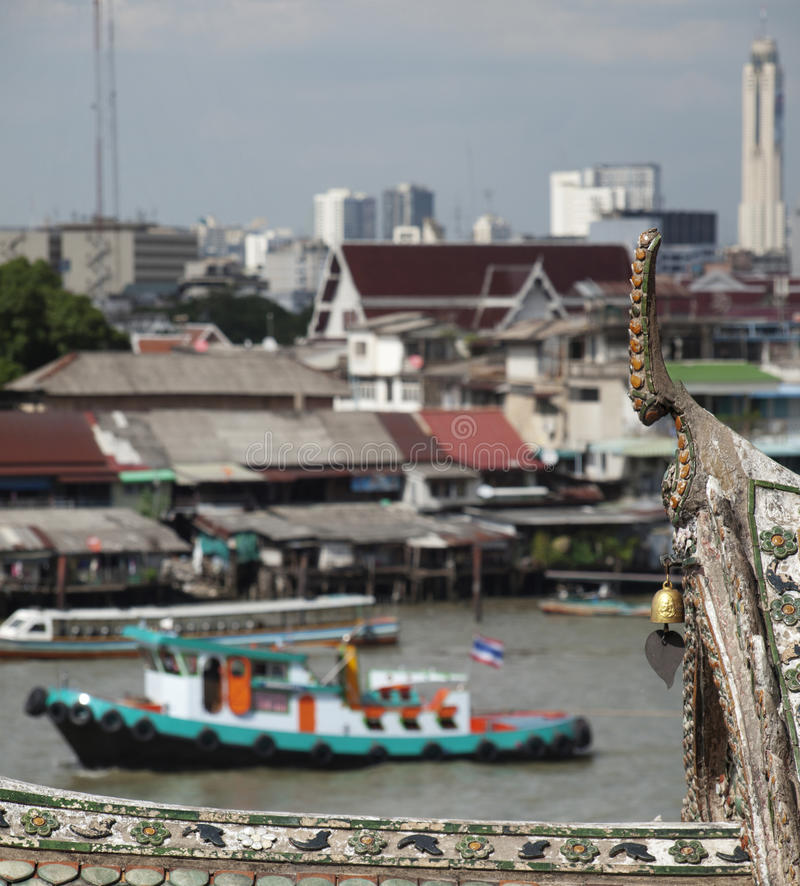 Download Bangkok view stock image. Image of landmark, transportation - 26311983