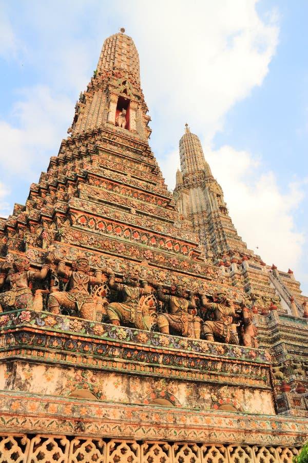 Bangkok - Wat Arun fotografía de archivo libre de regalías