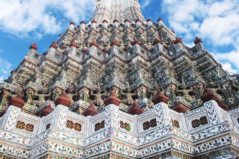Bangkok Wat Arun Giant thailan image libre de droits
