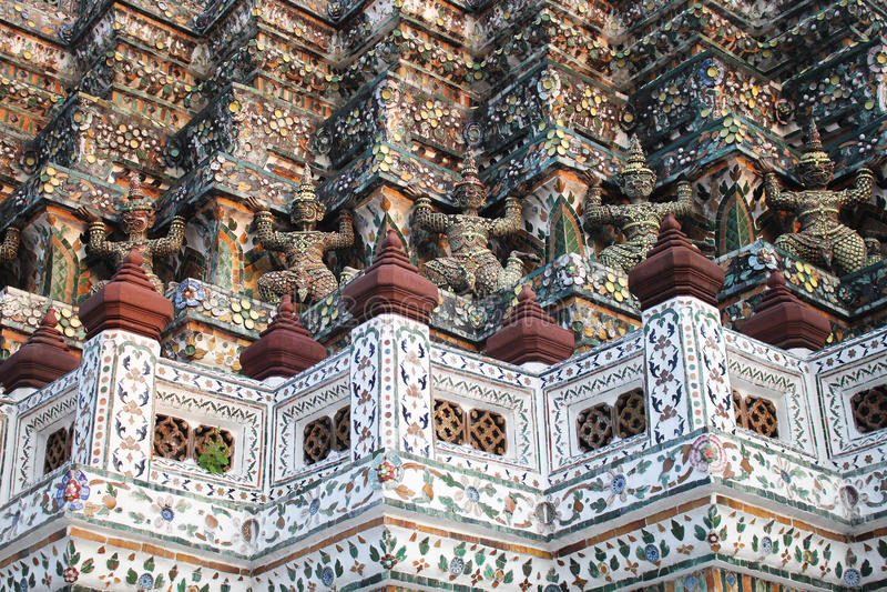 Bangkok Wat Arun Giant thailan photo stock
