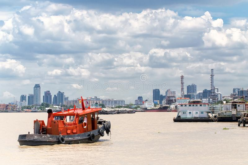 Bangkok zafrachtowań port obrazy stock
