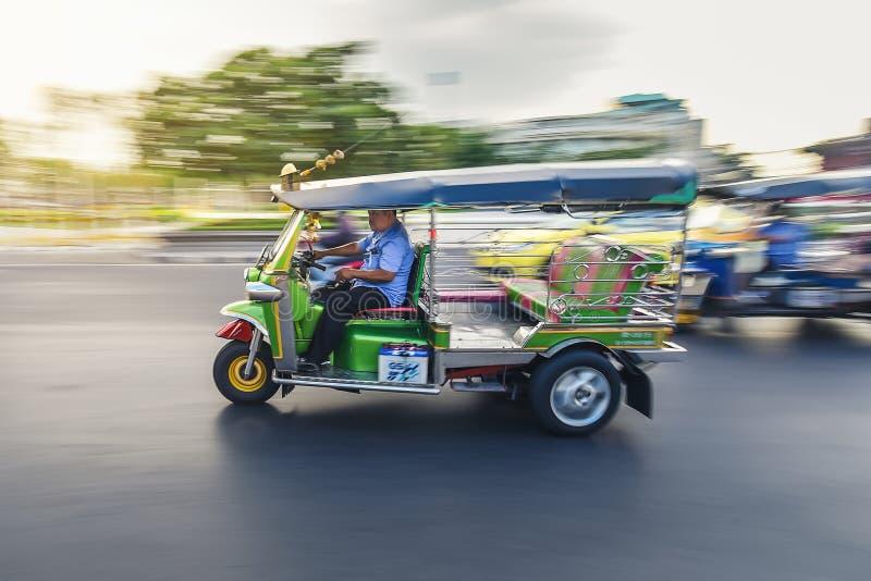 BangkokTHAÏLANDE-26 septembre:Taxi photo stock