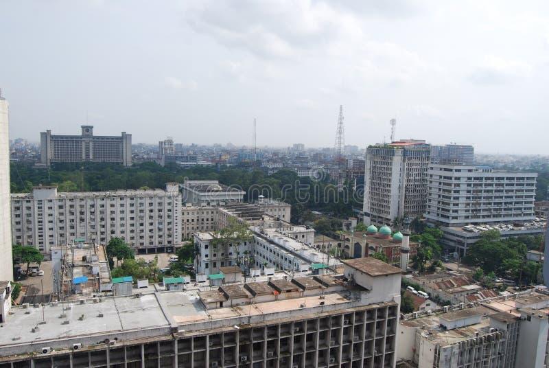 Bangladesch Sachibalaya oder altes Sekretariat, lizenzfreie stockfotos