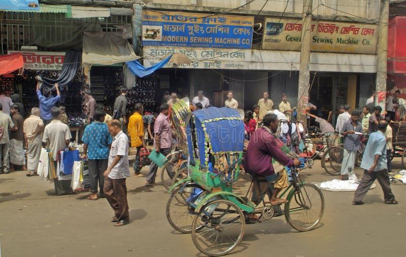 Bangladesh Dhaka fotografering för bildbyråer
