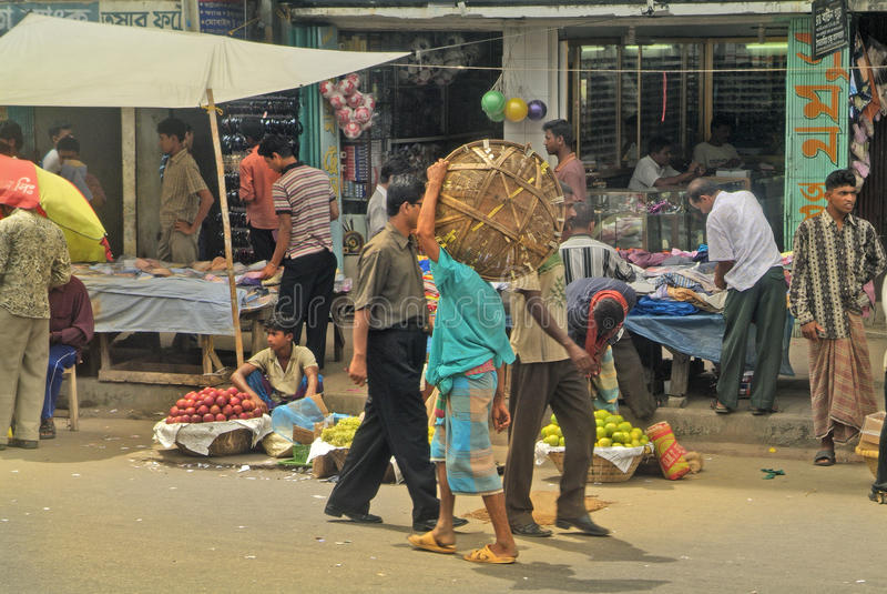Bangladesh Dhaka royaltyfri foto