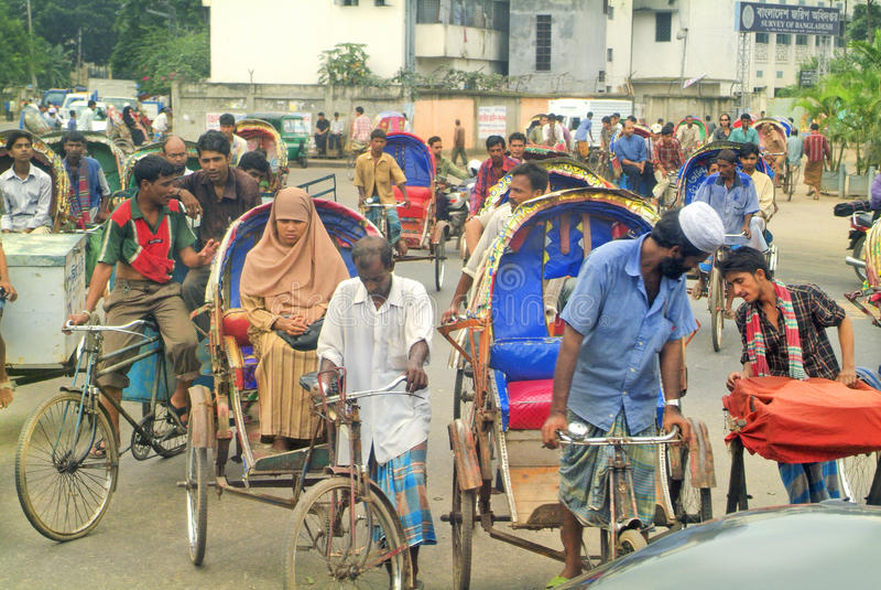 Bangladesh Dhaka, royaltyfri bild