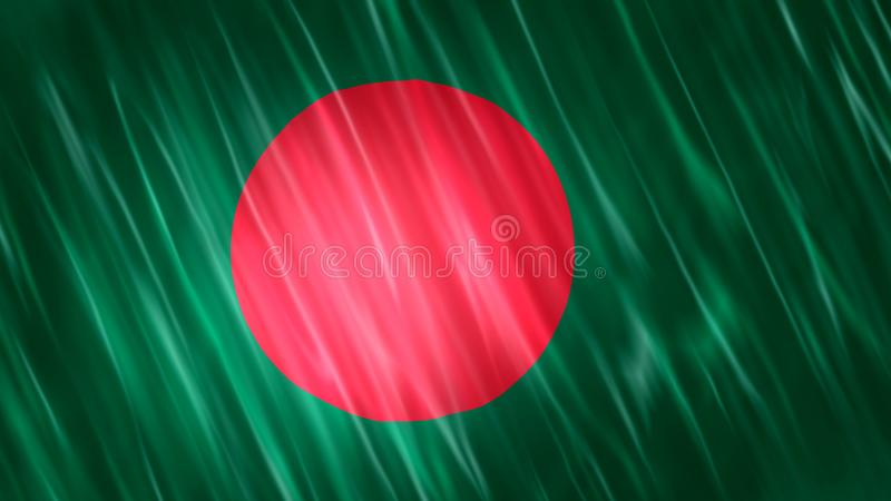 Bangladesh Flag royalty free stock photography