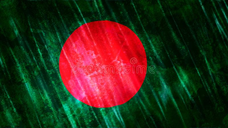 Bangladesh Flag royalty free stock photo