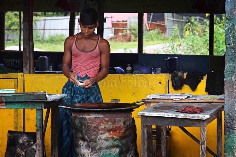 Bangladesh: Gatasikt fotografering för bildbyråer