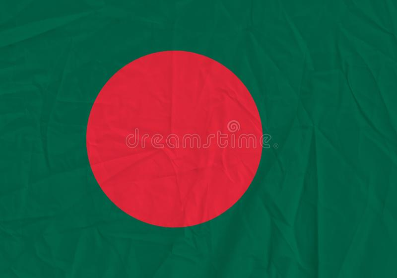 Bangladesh grunge flag stock photography