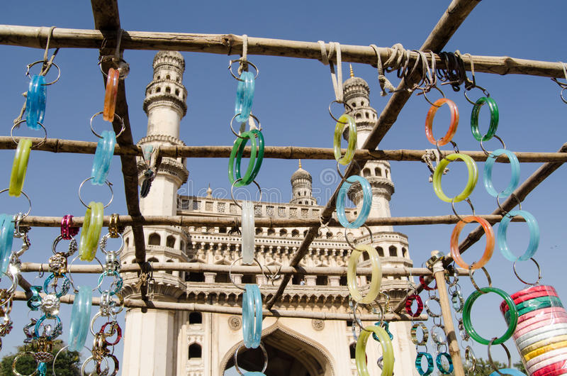 Download Bangles and Charminar stock photo. Image of many, famous - 30575344