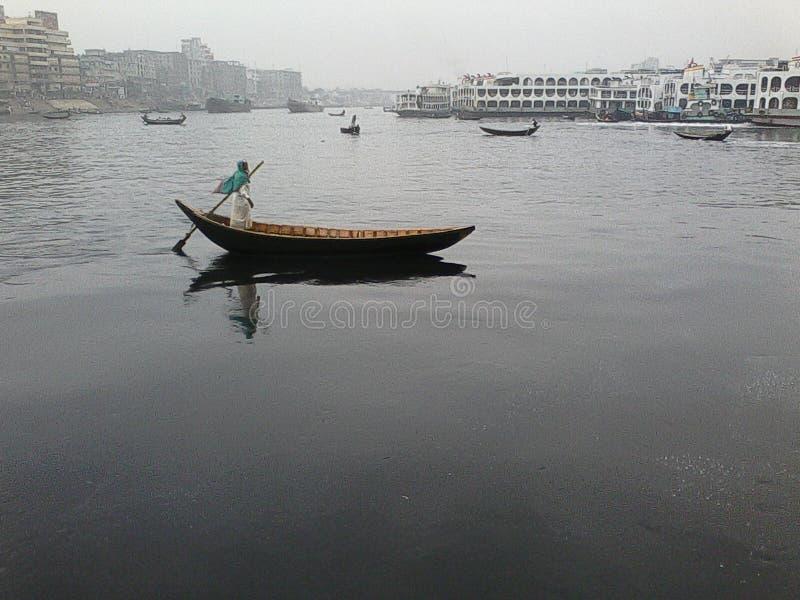 Banglobari in Dacca fotografia stock libera da diritti