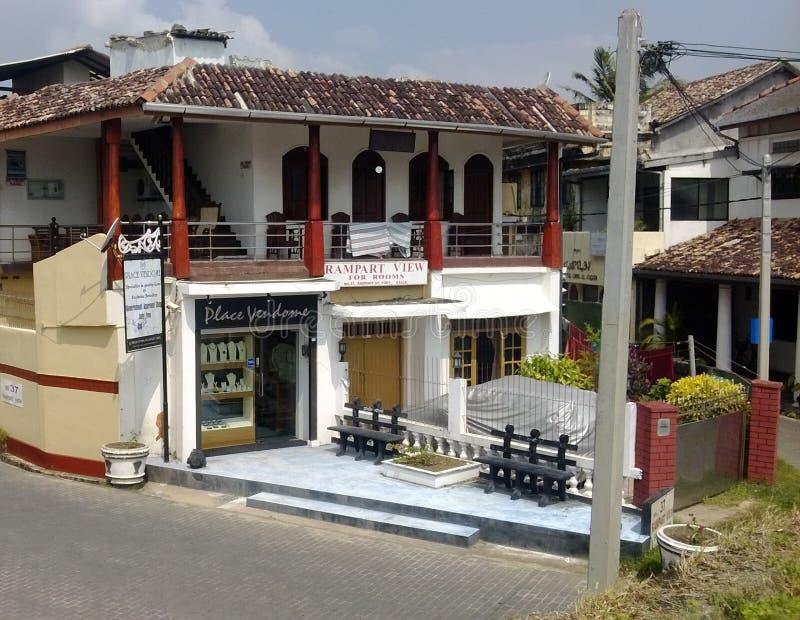 Banglow del turismo del fuerte de la rozadura fotografía de archivo