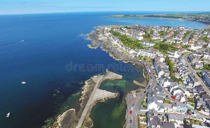 Bangor marina Co ner arkivbild