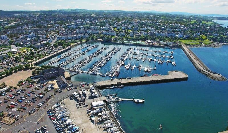 Bangor marina Co Ner nordligt - Irland royaltyfri foto