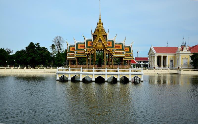 Bangpa-в королевском дворце стоковая фотография