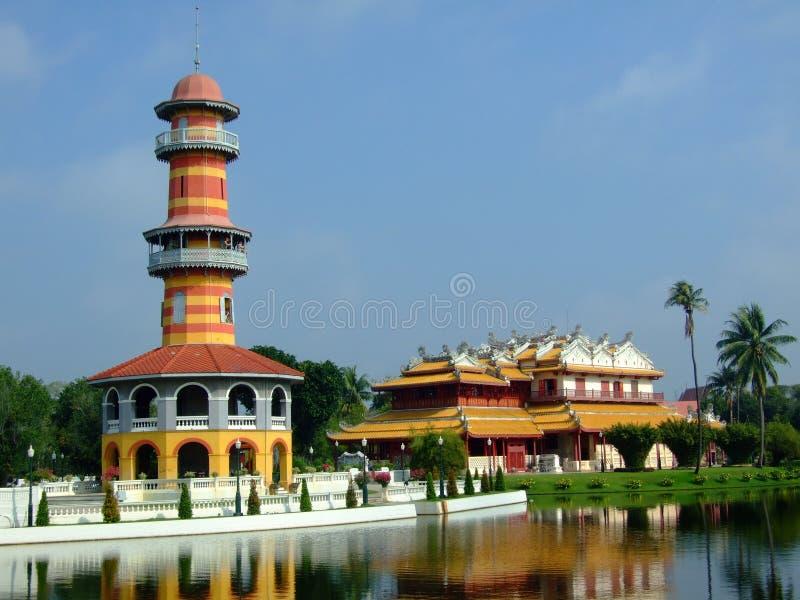 Download Bangpain palace stock photo. Image of vitoontasana, vehardchamroon - 27158660