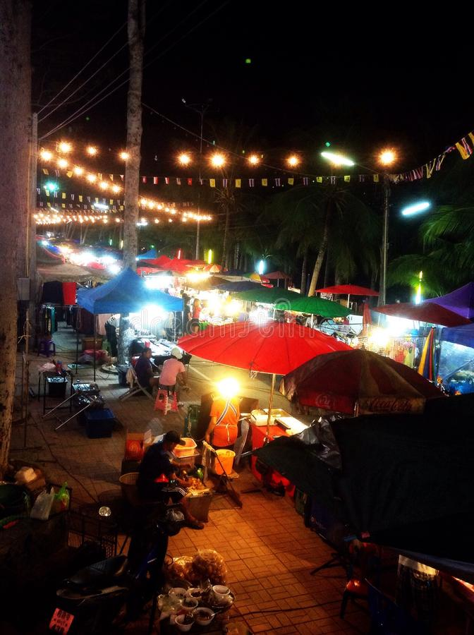 Bangsarey skaldjurfestival royaltyfri fotografi