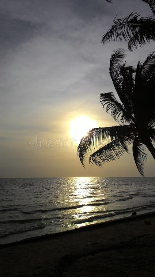 Bangsean Beach royalty free stock photos