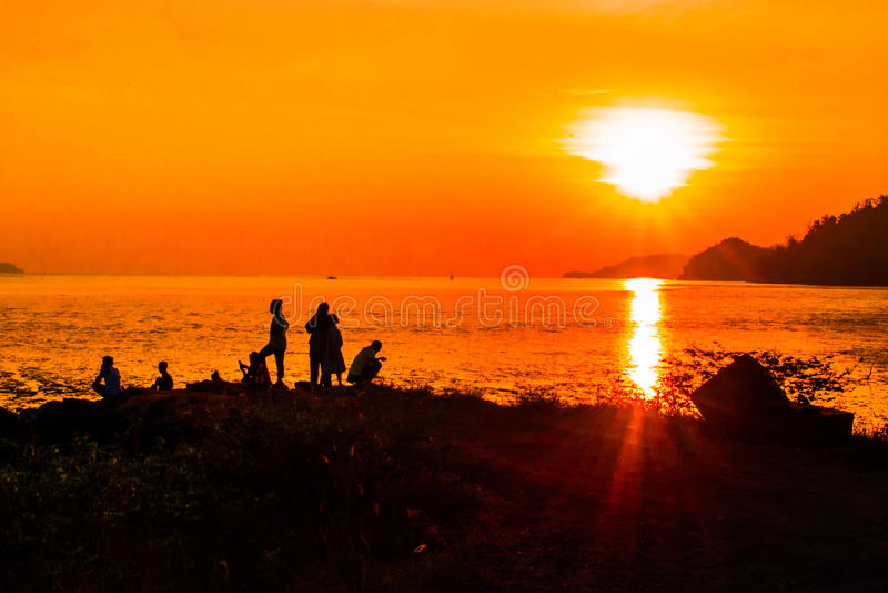 Bangsila, Langu, satun, Tailandia imagen de archivo