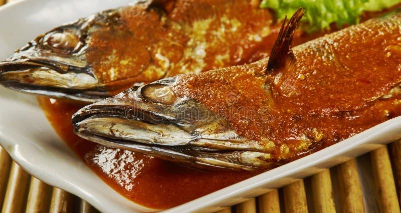 Bangude meen карри стоковая фотография