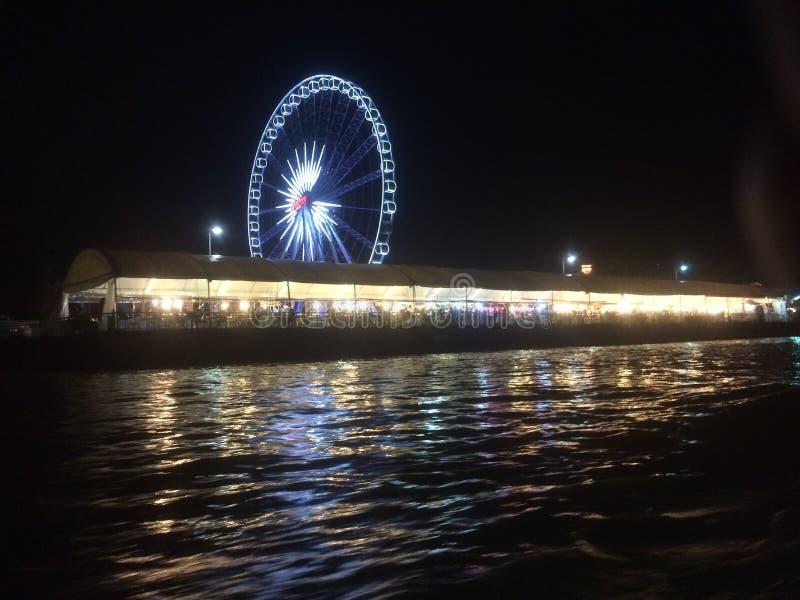 Banguecoque Asiatique Ferris Wheel fotografia de stock royalty free