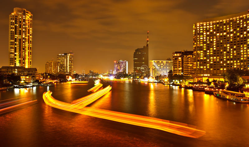 Banguecoque, capital de Tailândia imagens de stock