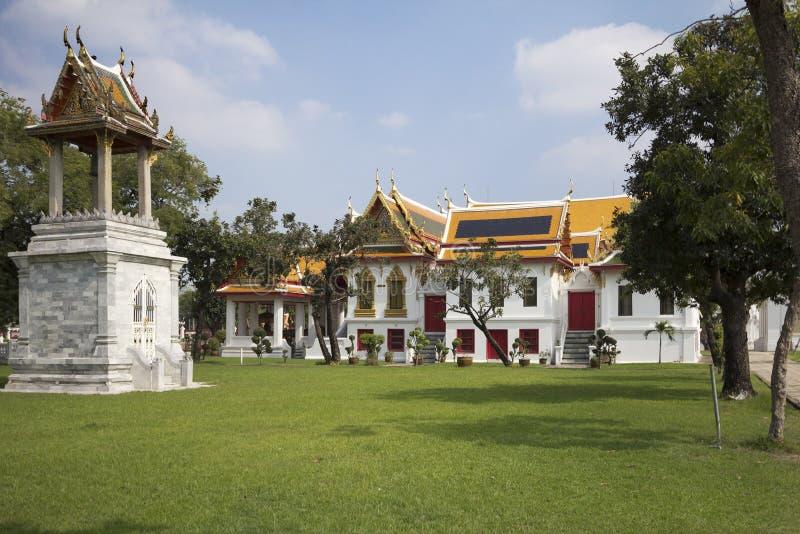 banguecoque O templo de mármore foto de stock