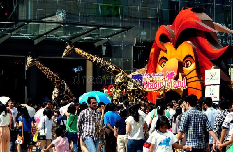 Banguecoque, Tailândia: Feriado do dia das crianças fotos de stock royalty free