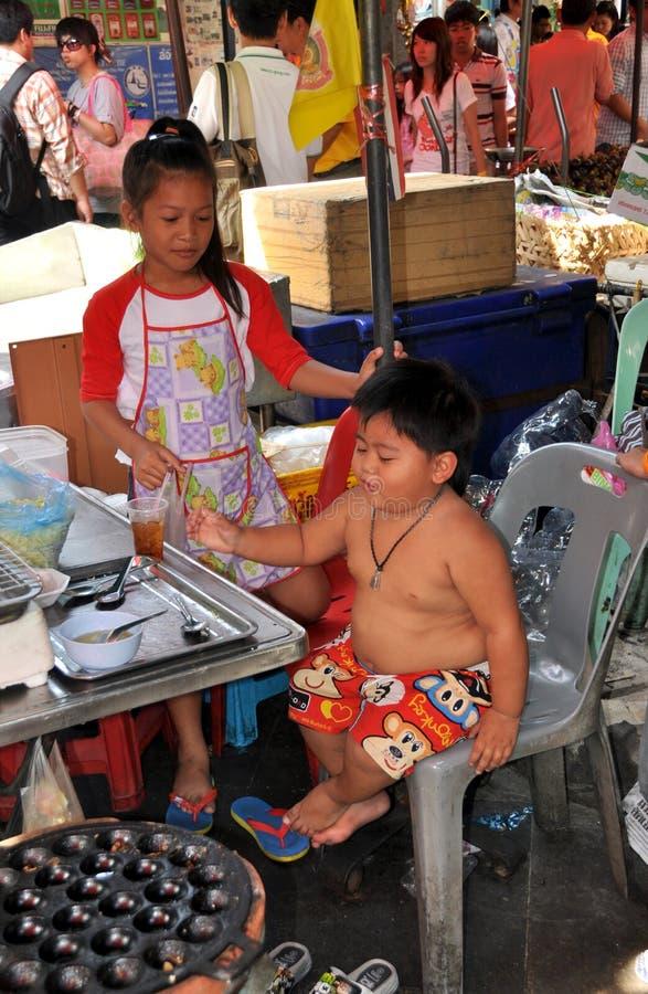 Banguecoque, Tailândia: Little Boy Chubby fotos de stock royalty free