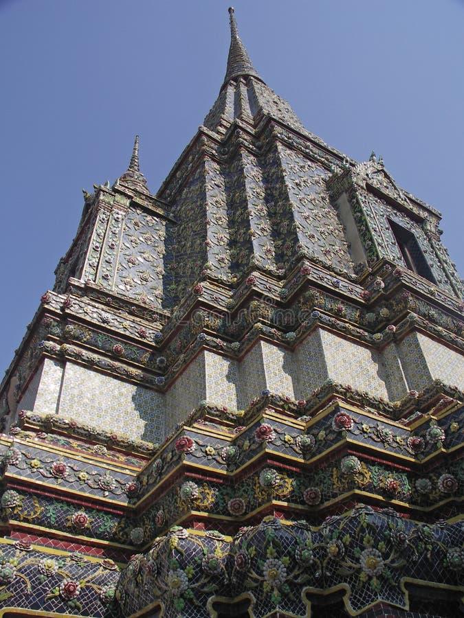 Banguecoque - Wat Pho foto de stock royalty free