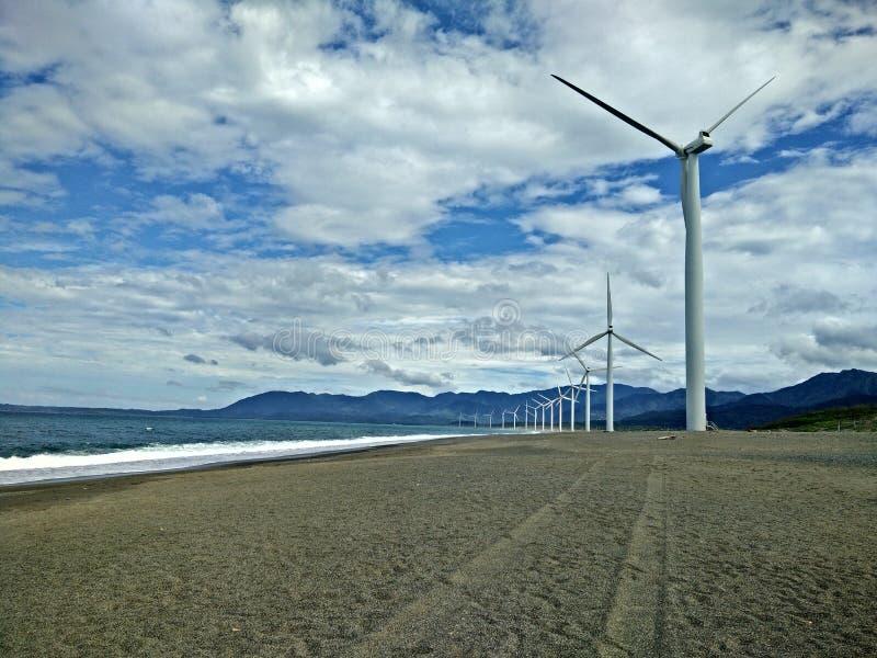 Bangui Windmills royalty free stock images