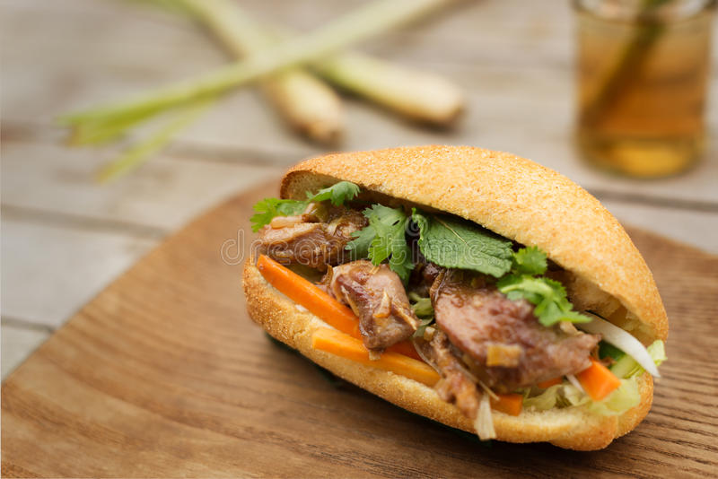 Banh Mi, Vietnamees brood royalty-vrije stock fotografie