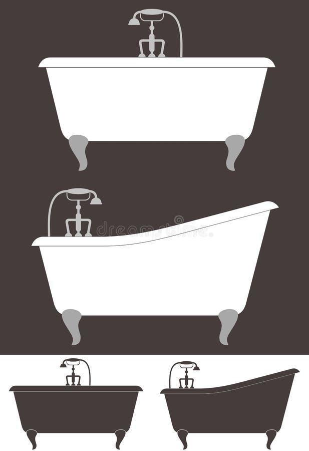 Banheira ilustração do vetor