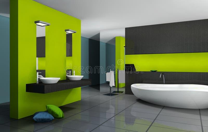 Banheiro ilustração royalty free