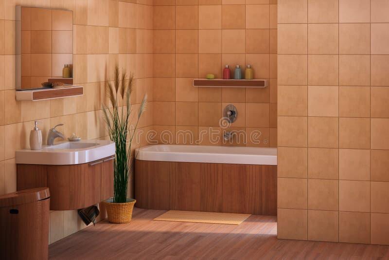 Banheiro ilustração stock