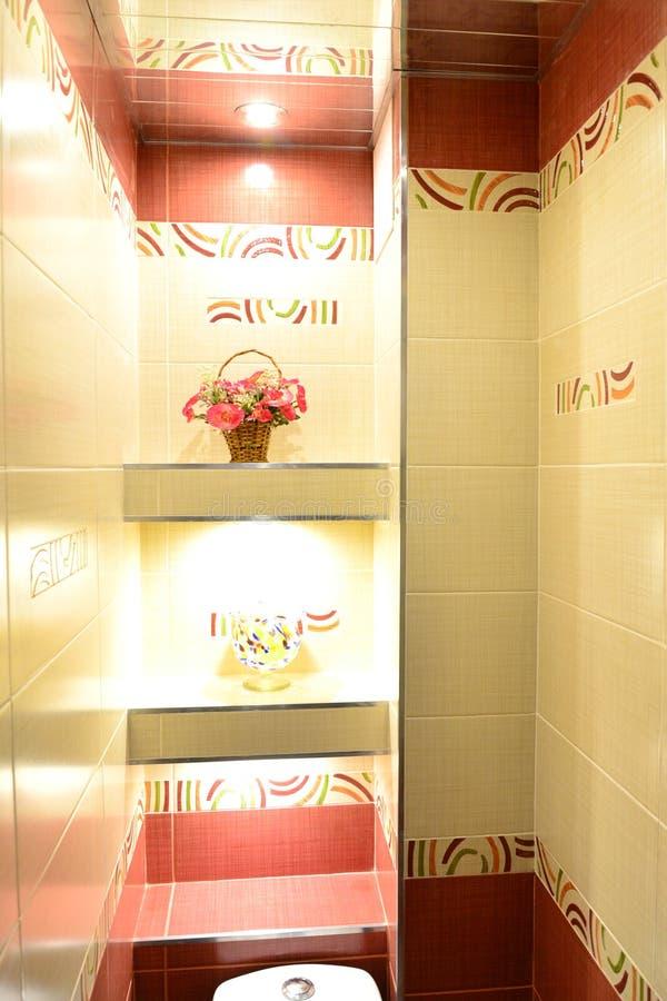 Banheiro bonito lavatory imagens de stock royalty free