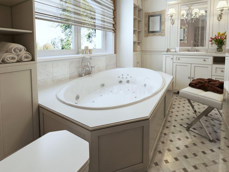 Banheiro clássico fotografia de stock royalty free