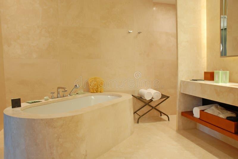 Banheiro contemporâneo fotografia de stock royalty free