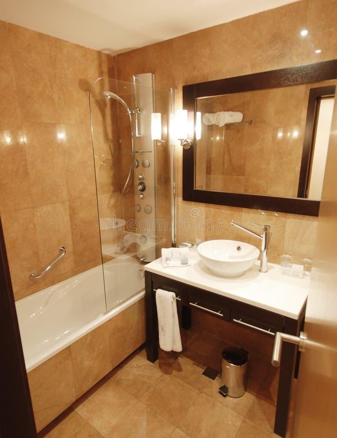 Banheiro de mármore imagens de stock royalty free