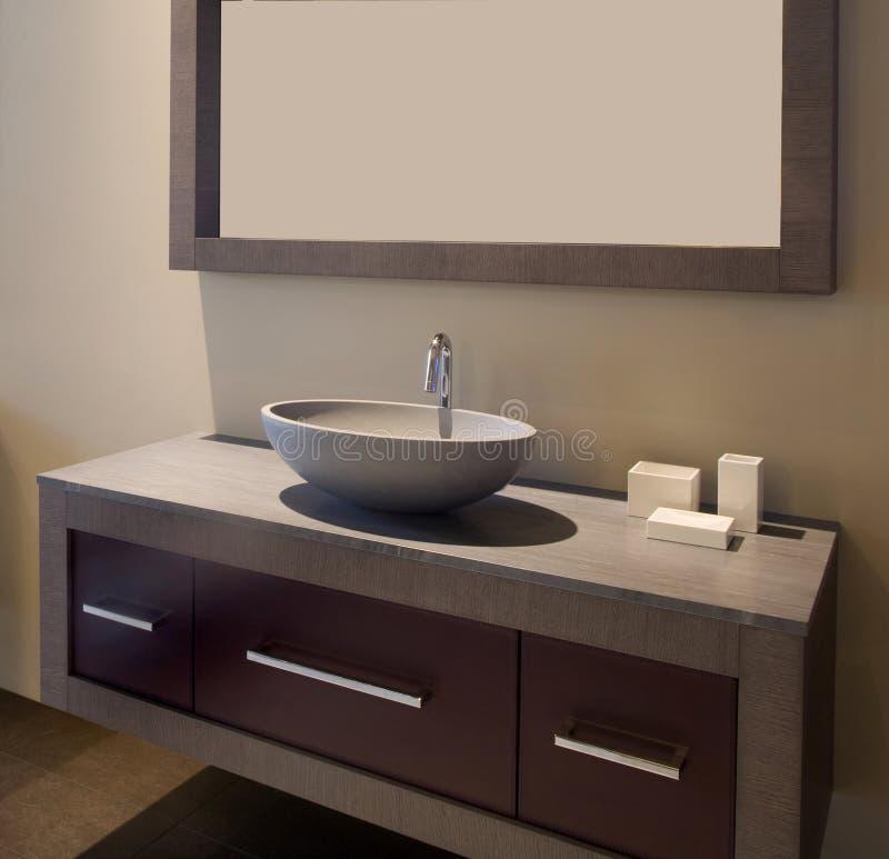 Banheiro do desenhador interior fotos de stock
