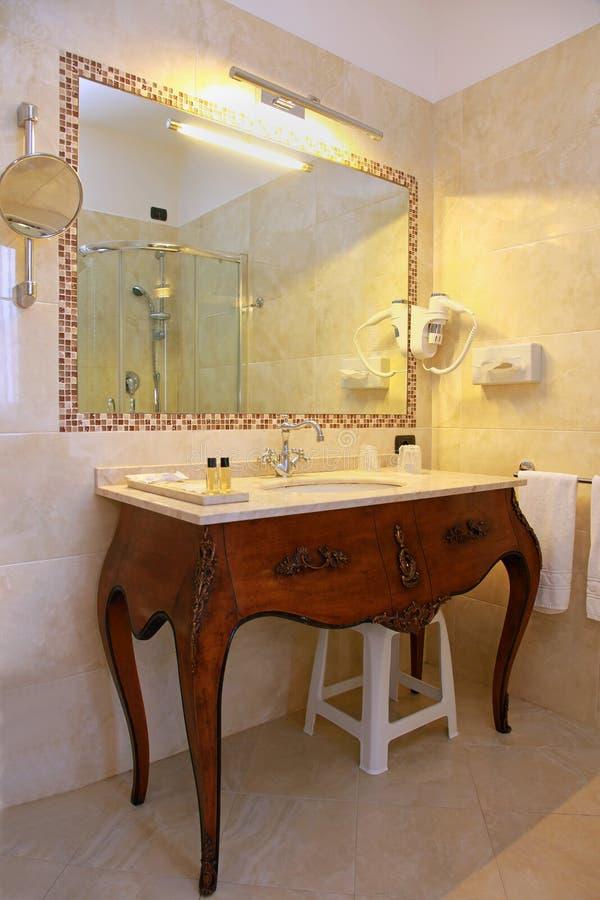 Banheiro do vintage fotos de stock