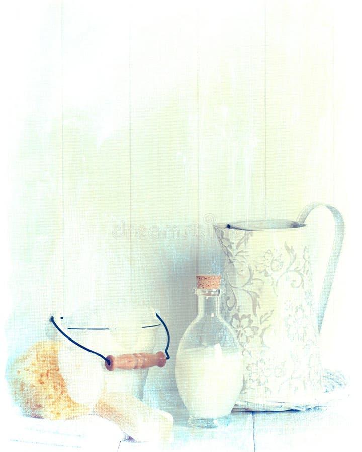 Banheiro do vintage imagem de stock royalty free