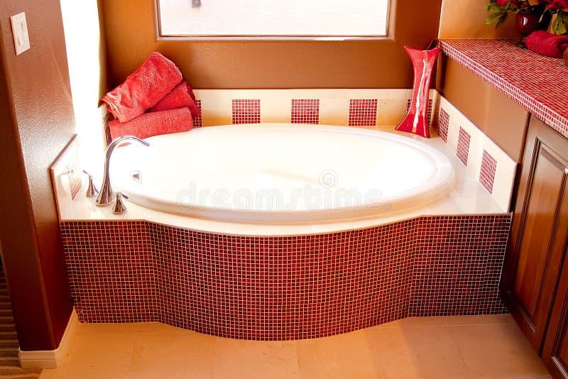Banheiro elegante moderno fotos de stock